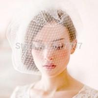 2014 New Free Shipping European Style DIY Lace Bridal Veil Wedding Veil Wedding Accessories TS074