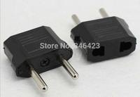 US to EU AC Power Plug Travel Converter Adapter European conversion plug transformation plug Free Shipping electrical plug
