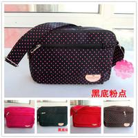 Wholesale supply of Korean wave point cloth bag lady student Shoulder Messenger Handbag