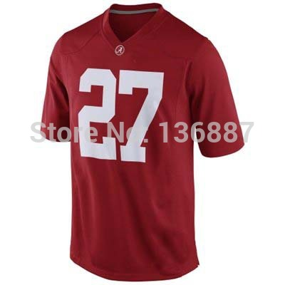 #27 Derrick Henry,Alabama Crimson Tide NCAA College Football Jerseys,2014 New Limited Jersey, Embroidery logos.Free Shipping(China (Mainland))