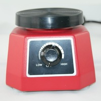"Dental Vibrator 4"" Round Dental Lab Red"