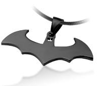 Bahamut Batman Dark Knight Pendant Men Fashion Titanum Steel Necklace Free Shipping
