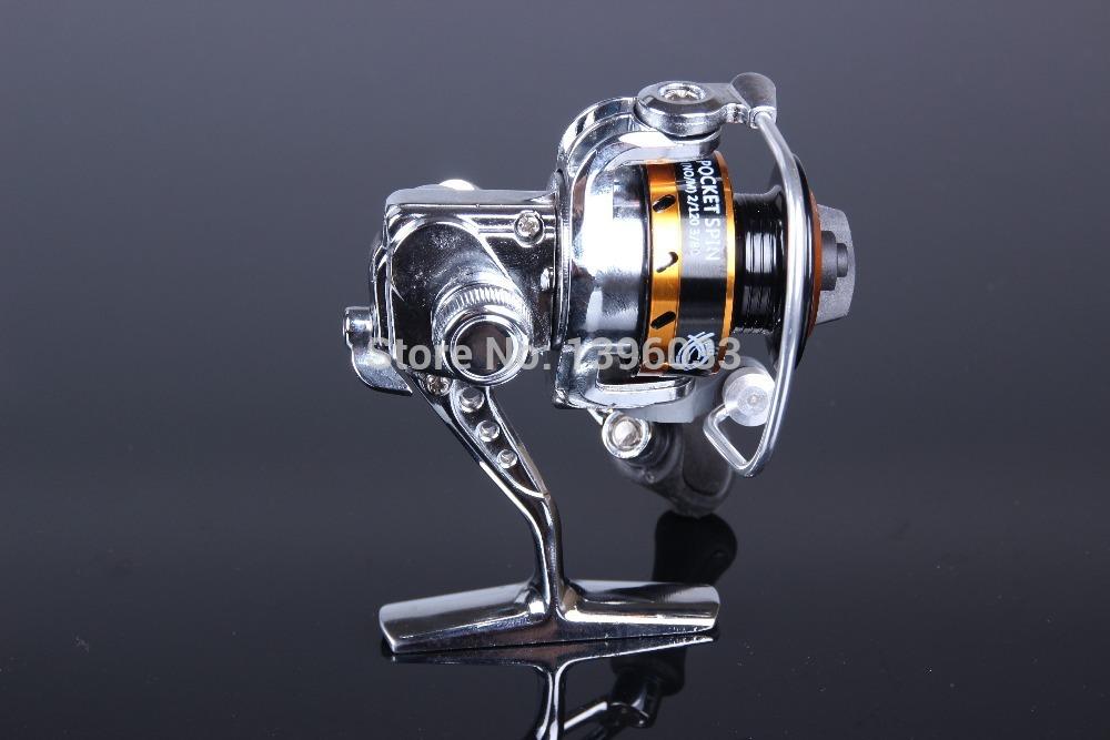 2014 NEW STYLE MINI XF150 5.0:1 Ice fishing reel 3+1 BB Metal Alloy reel(China (Mainland))
