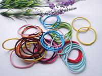 70pcs mixed color elastic hair band headband girl