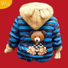 new 2014 outerwear & coats, boys jackets, cartoon boys clothes, boys bear suits, kids clothing, 3 sizes(China (Mainland))