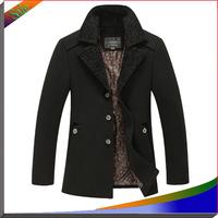 2014 New Fashion Men Jackets Wool Brand Men Sportswear Jaqueta Masculina Men Overcoat Autumn And Winter Jacket Mens Coats