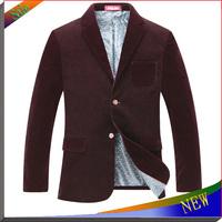 2014 HOT NEW Arrival Fashion Mens Suit Men Blazer Jacket Woolen Jackets Brand Men's Coat Casual Jackets For Men Suits Jacket