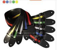 Straps popular ballad guitar color straps color multi-select Folk guitar straps 41 inch guitar straps