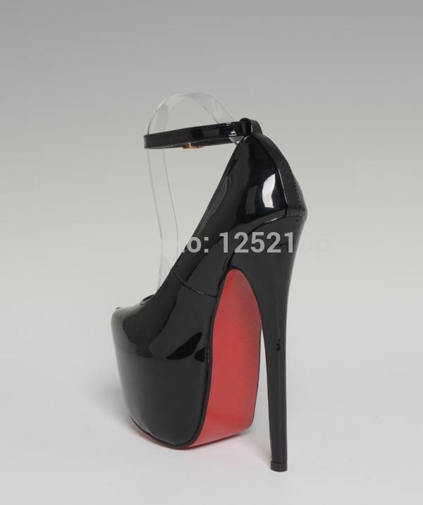 big yard pu pump extreme high heel 19cm high heel 6cm. Black Bedroom Furniture Sets. Home Design Ideas