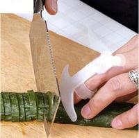 Smile Finger Hand Protector Guard Personalized Design Chop Safe Slice Knife Kitchen Cooking Tools