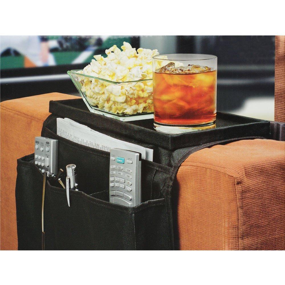 1PC 6 Pockets Sofa handrail Couch armrest Arm Rest Organizer Remote Control Holder bag On TV Sofa corrimao Braco Resto Organizer(China (Mainland))