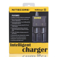 Free Shipping + 1PC Nitecore Battery Charger for 16340 10440 AA AAA 14500 18650 26650 Battery Charger Nitecore I2 Charger