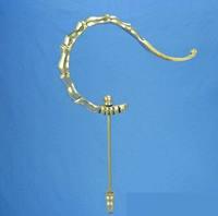 ES032 Large bamboo bird cage hooks, brass bird cage hook birdcages accessorise wholesale