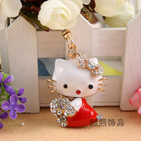 Beutiful And Colorfui Hello kitty Keychain 4 Color