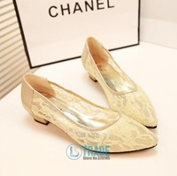 2014 Free Shipping Point Toe Retro Wholesale Golden and Silver Patchwork Colors Flats Women Soft PU Casual Shoes Women BZY007