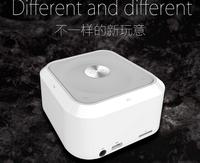 2014 New NFC HIFI Portable wireless Bluetooth Speaker fm radio double subwoofer loudspeaker mini USB music speaker sound boombox