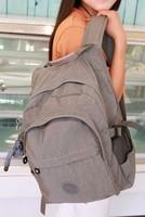 Hot sell New nylon kip bigger backpack girl and boy school bag women travel bag multifunction backpack with money free shipping
