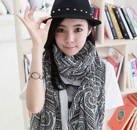 2014 Big Size 170*80 cm Women Bohemia national trend autumn and winter scarf  Free shipping