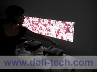 DEFI Triple screen Interactive floor system support 3 projectors including Edge Blending setting 12 effects