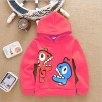 Kids Boy Cotton Clothing Dino Dinosaur Hoodies Children Novelty Shirt Boys Fashion Outwear for Spring Autumn Drop Free Shipping