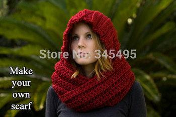 Debs Crochet: Hood Scarf Crochet Pattern - blogspot.com