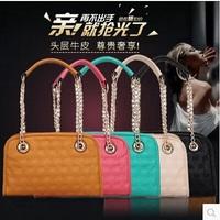 New 2014 brand  women leather handbags genuine leather bags