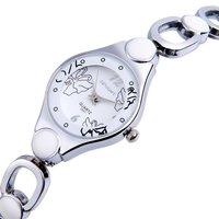 Upstart Watch& Women Fashion Business Watches, Stainless Steel Belt Women Bracelet Watches Quartz Watches