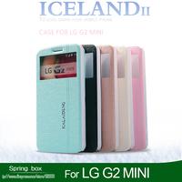 KALAIDENG iceland Series Ultrathin PU Leather Cover Hard Back Phone Case For  LG G2 MINI  Free GIft