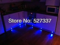 Wholesale! recessed led plinth light led decor lights for kitchen plinth: including 100pcs 0.3w lights