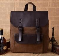 2014 new arrival  backpack men's casual shoulder bag retro trend rucksack bag schoolbags messenger bag