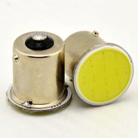 Free Shipping Rear Turn signal lights COB 4W Bulbs Lamp Lights BA15S 1156 White Lamp