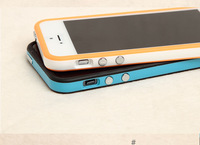 Soft case for iphone 5 Bumpers Frame for iphone 5 5s with retail package,Free shipping