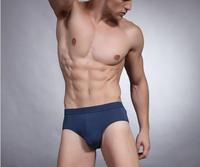6544  convex men's underwear bamboo fiber antibacterial solid Shorts Men's Sexy Underwear Briefs Modal Men Briefs MNK004 6544