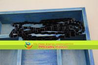 Free Shipping PPCrafts Fashion Wholesale 50pcs Black Wave Metal Hairbands Base