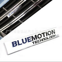Volkswagen General  BLUE MOTION Technology Drive  Metal Car Stickers