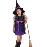 2014 Free shipping stock halloween cosplay costumes for kids fantasia children cosplay costume high quality CXCC-4581