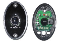 Perimeter Burglar Alarm single one beam Egg shaped active infrared detector IR Sensor photo eye work with alarm host