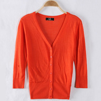 6544 6544 Specials Ladies Knit Hollow Flouncing Puff Shawl Cardigan Sweater Coat Sun Protection Clothing ks0055 6544