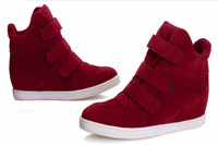 Free Shipping Women's Sneakers High top Casual Elevator Shoes Isabel Marant Boots