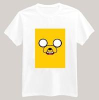 Adventure Time Printed Tshirt For Women Men Short Sleeve Unisex Cotton Casual White Shirt Top Tee XXXL Big Size ZY053-02