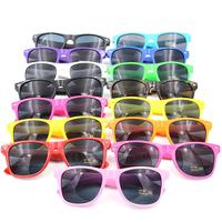 Hot 2014  Fashion  Men/Women Wayfarer Sunglasses Candy colored unisex sunglasses Good quality glasses Multiple color choices