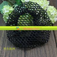 Fashion PPCrafts Wholesale 10pcs/lot 12cm Thick Black Hairnets Free Shipping