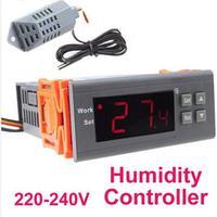 Free Shipping   farming humidity Digital Air Humidity Control Controller sensor Temperature 110V and  220V