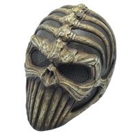 High Quality Resin Life Size 1:1 Replica Allien Skull Mask Devil Demon Horrible Mask For Halloween
