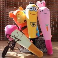 Hammer stick plush toy dolls cartoon doll gift wedding gift small doll