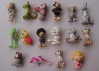 100pcs/lot  nici pvc  animals many styles mixed