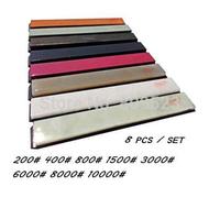 8 pieceApex sharpener +Ruixin sharpener Sharpening Grindstone Polishing Stone Grit 240#-10000#  Sharpener System Graver oilstone