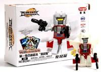 Children's puzzle toy Halloween gift Assembling toys Robot 4 set combinations 16 models assembled mini robot wj010