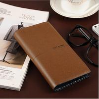 Wallet two fold style man wallet zipper wallet bag business