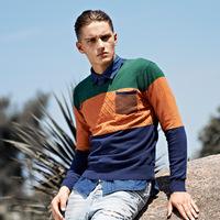 Male V-neck pullover sweater thin sweater male slim sweater male sweater